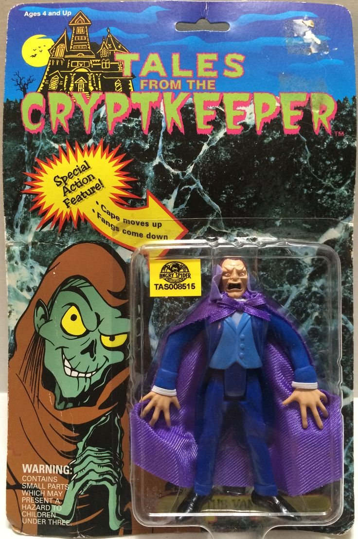 (TAS008515) - Tales From The Cryptkeeper Special Action Figure - Dracula