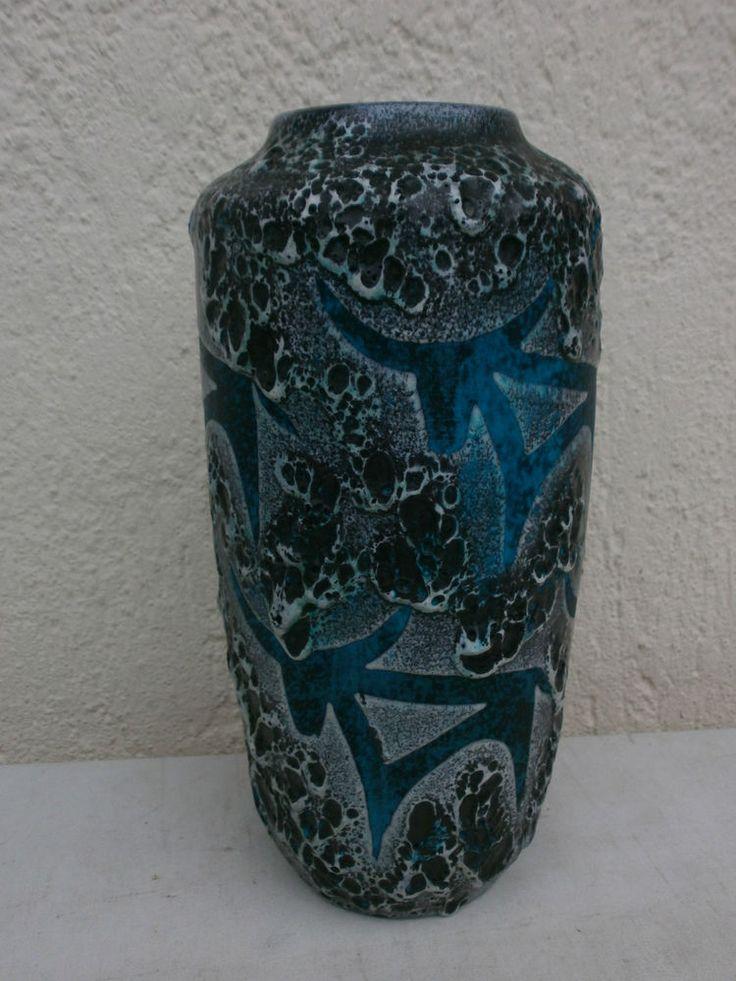scheurich fat lava bull vase 217-45 rar | eBay | ART ...