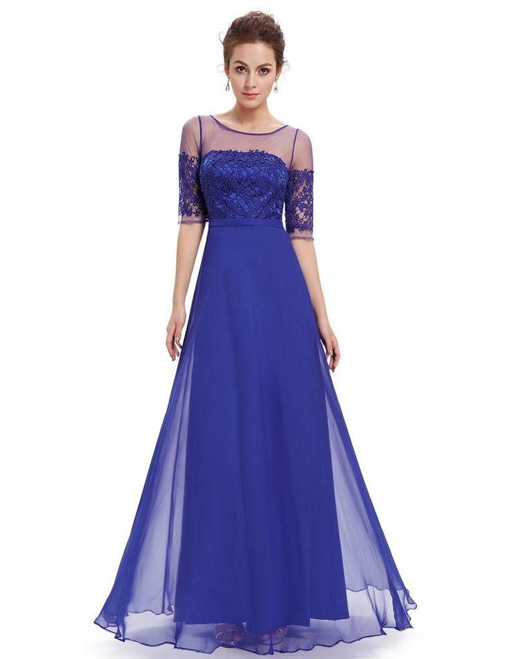 Mejores 50 imágenes de Blue Evening Dresses en Pinterest | Vestidos ...
