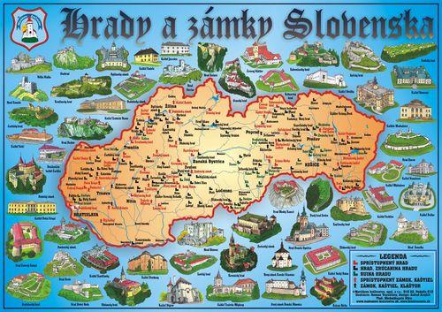 hrady, zámky Slovenska