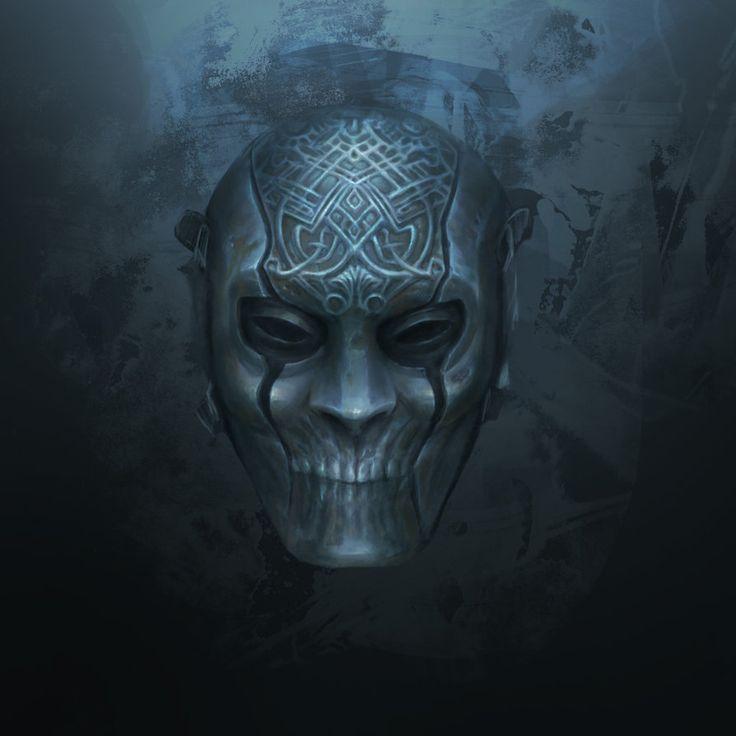 Mask of silence by Gloroh.deviantart.com on @DeviantArt