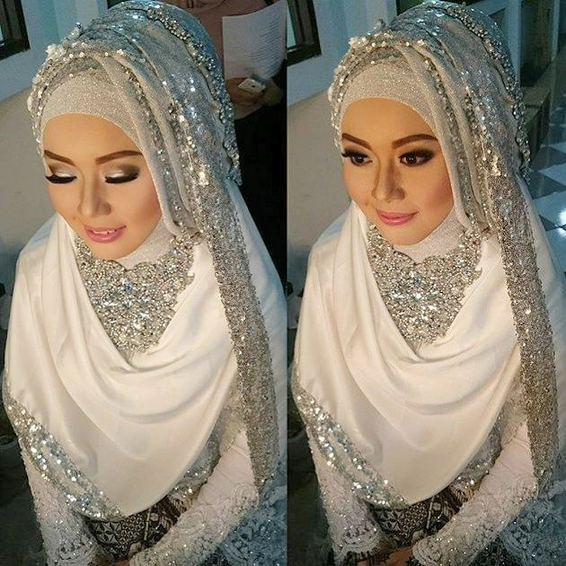 "87 Likes, 8 Comments - Syari Modest Bride Inspiration (@syaribrides) on Instagram: ""@yuyunmakeup"""