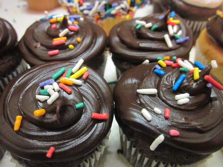Can you resist double chocolate? I think not. Cupcakes from Mrs. A's Cupcakes and Cookies, Park Ridge, IL