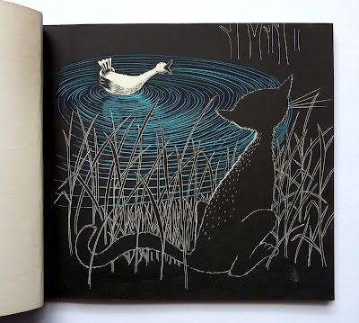 turning pages: Peter and the wolf - Serge Prokofief, illustrated by Frans Haacken