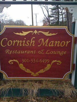 Cornish Manor Restaurant - Oakland, MD (south of Deep Creek Lake)