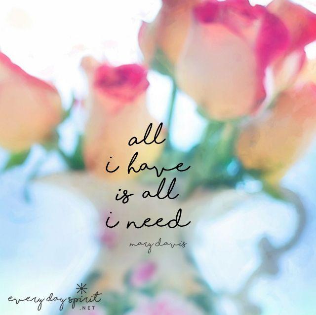 Gratitude brings abundance. #gratitude For the app of beautiful wallpapers ~ www.everydayspirit.net xo