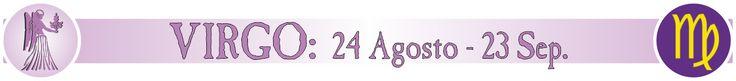 VIRGO - 24 de Agosto al 23 de Septiembre. Signos del zodiaco, horóscopo. BANNER.