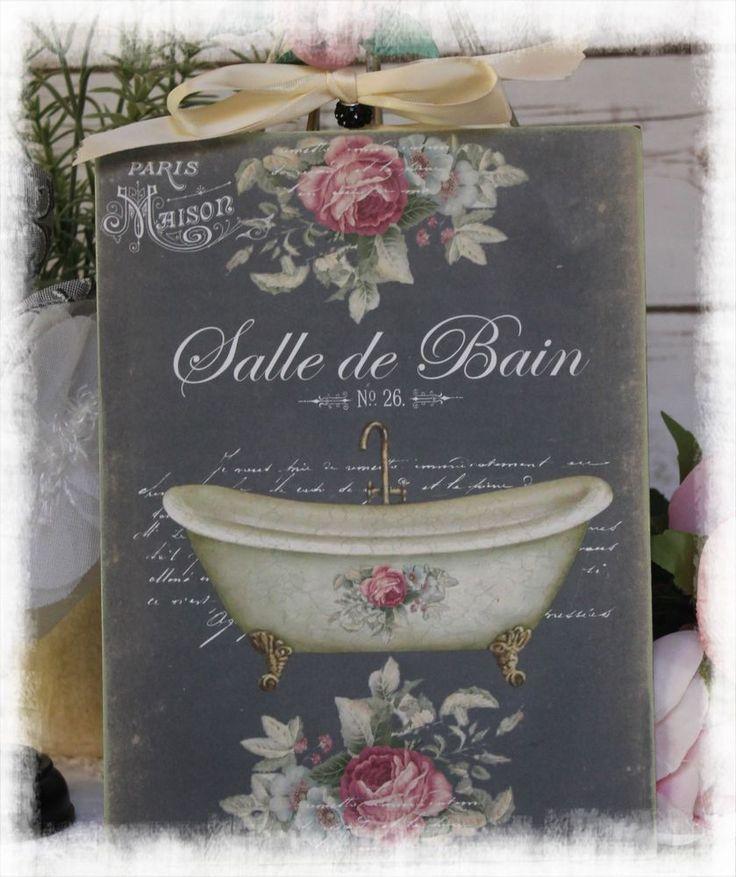 1000 id es sur le th me salles de bains shabby chic sur for Accessoires de salle de bain shabby chic