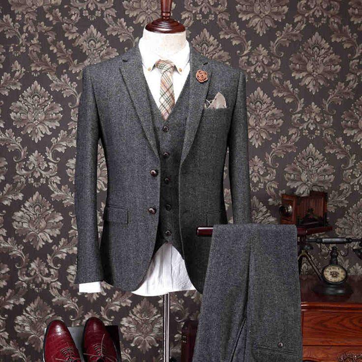 Wool Man Sute Wedding: 25+ Best Ideas About Mens 3 Piece Suits On Pinterest
