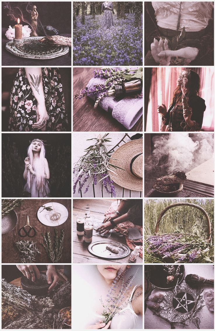Sage Witch aesthetic