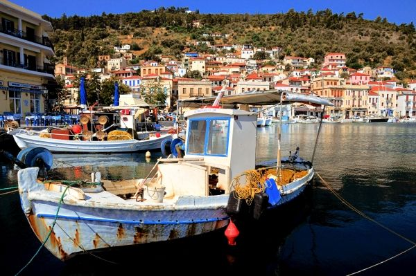 From the port of Gythio, southern Peloponnese