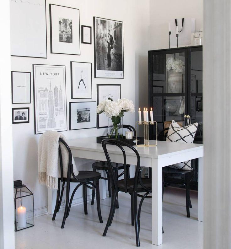 Dining room interior with Quartet candelabra / Photo by @65m2 / be&liv