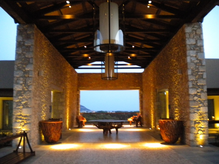Costa Navarino, the Dunes Course clubhouse