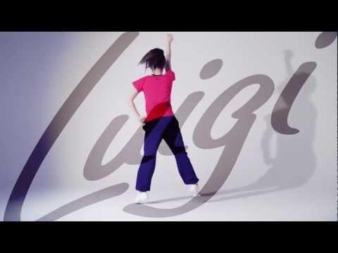 Luigi ダンススウェット × ダンスエクササイズ Ver.1
