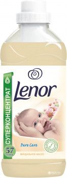Концентрированный кондиционер для белья Lenor Миндальное Масло для чувствительной кожи 2 л (4015600848675)