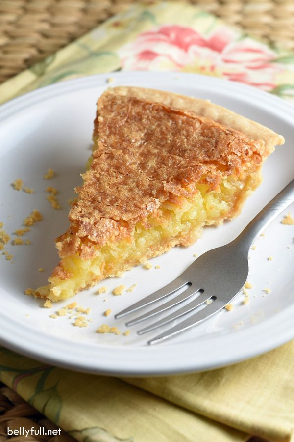French Coconut Pie - A super easy pie where coconut is the star. Sweet, buttery, and crispy. Only 5 minutes of prep!