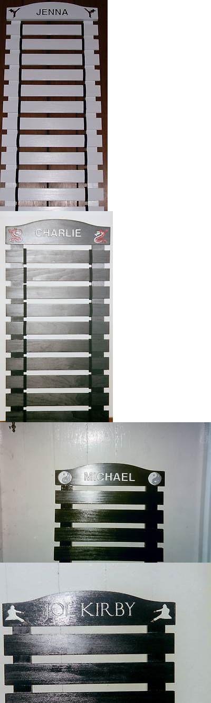 Belt Displays 179768: Custom Black Painted Karate Belt Display Rack 12 Slats -> BUY IT NOW ONLY: $100 on eBay!