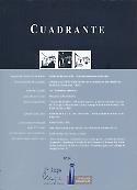 Imagen de portada de la revista Cuadrante