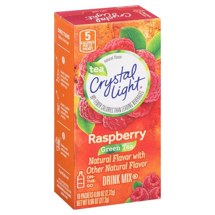 Crystal Light On-the-Go Raspberry Green Tea 10ct