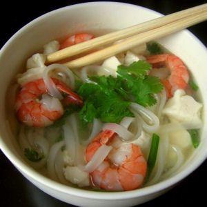 Soupe de crevettes vietnamienne