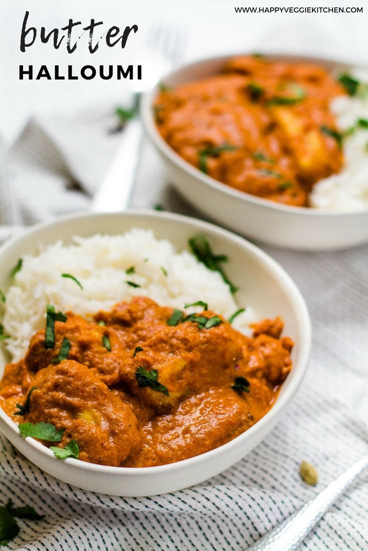 Butter Halloumi Curry
