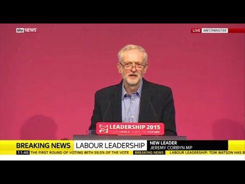 Jeremy Corbyn's Labour Party Leadership Acceptance speech