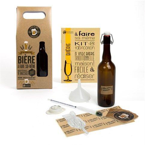 Coffret de fabrication de bière