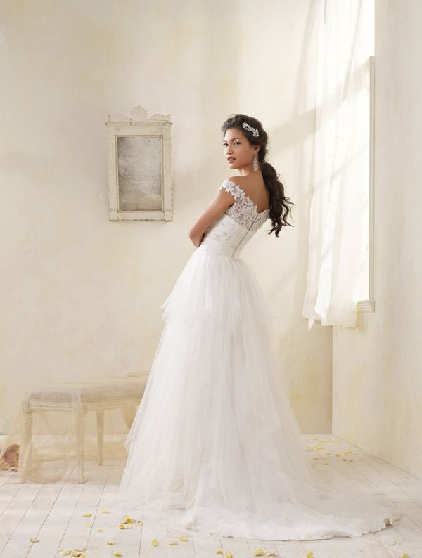 Alfred Angelo Back Of 8506 For The Bride Pinterest