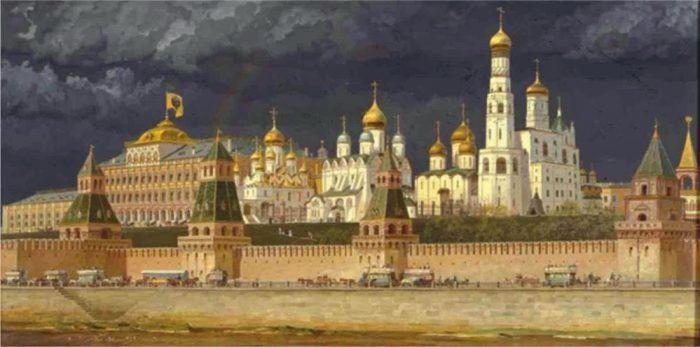 Ерошкин.С  Московский кремль