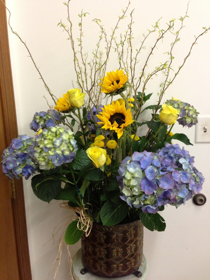 Special opening night plant and floral presentation for a local celeb; designed by Irma