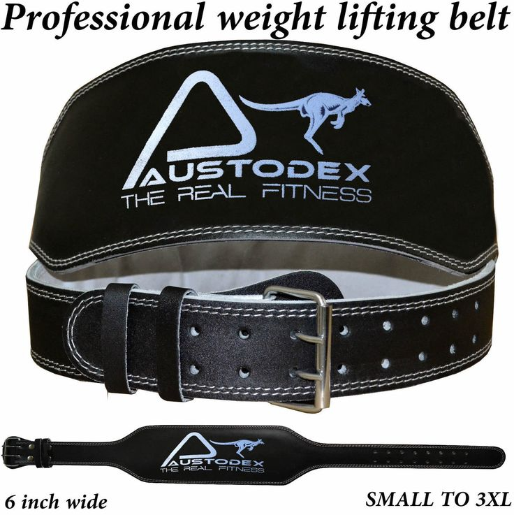 Austodex #weight lifting bodybuilding back #support ##weightlifting leather belt 6,  View more on the LINK: 	http://www.zeppy.io/product/gb/2/322312508396/
