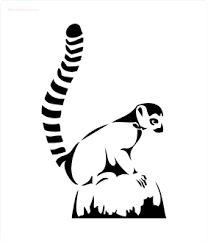 Resultado de imagen para animal  Stencil