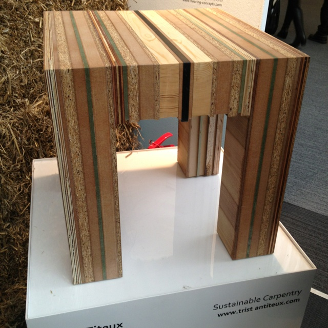 Sustainable furniture Eco friendly