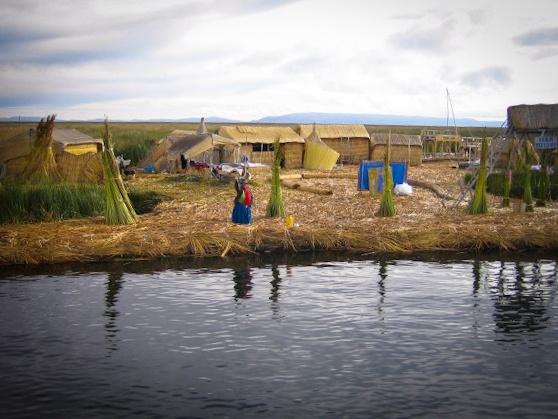Uros Indianen Titicacameer Peru