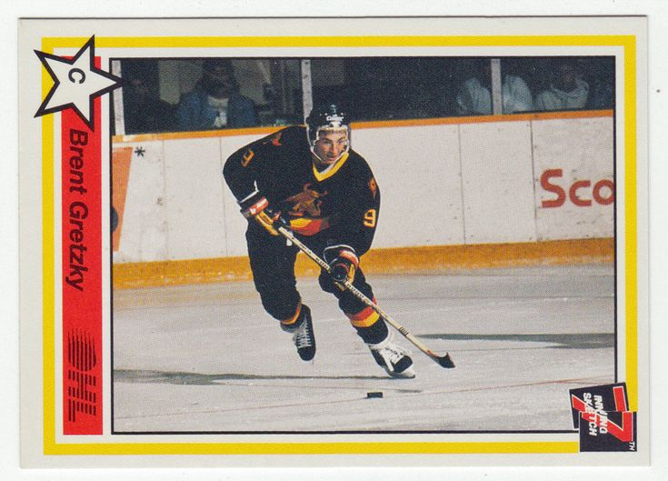 Brent Gretzky # 7 - 1990-91 7th Inning Sketch OHL Hockey