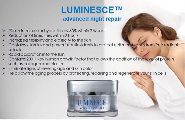 Luminesce Advanced night repair www.christilynn87.jeunesseglobal.com