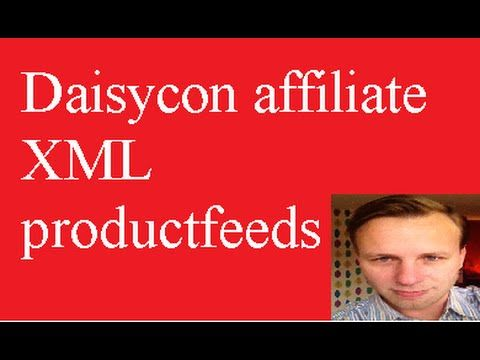 Daisycon affiliate XML productfeeds