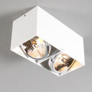 Spot Box 2 wit - Eetkamerverlichting - Verlichting per ruimte - Lampenlicht.be