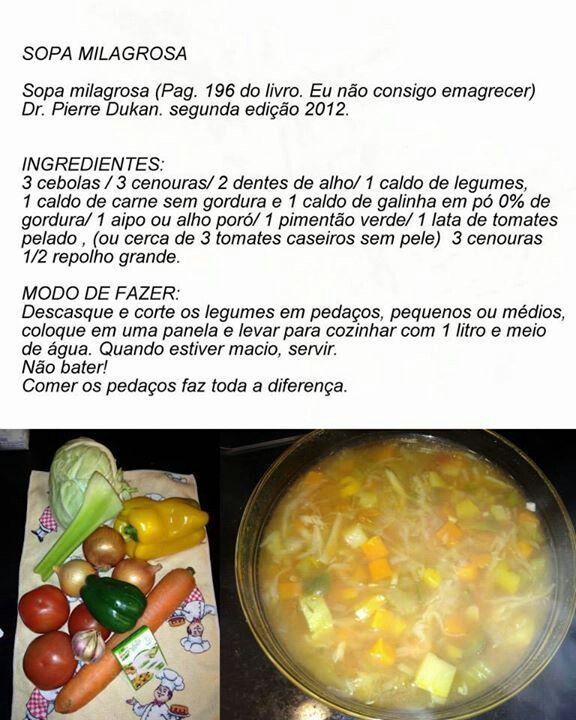 Sopa Milagrosa