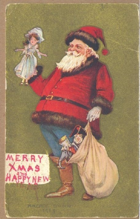 17 best 1900 1904 vintage cosmopolitan covers ads images on 1910 merry xmas happy new year pc christmas santa archie gunn fandeluxe Image collections