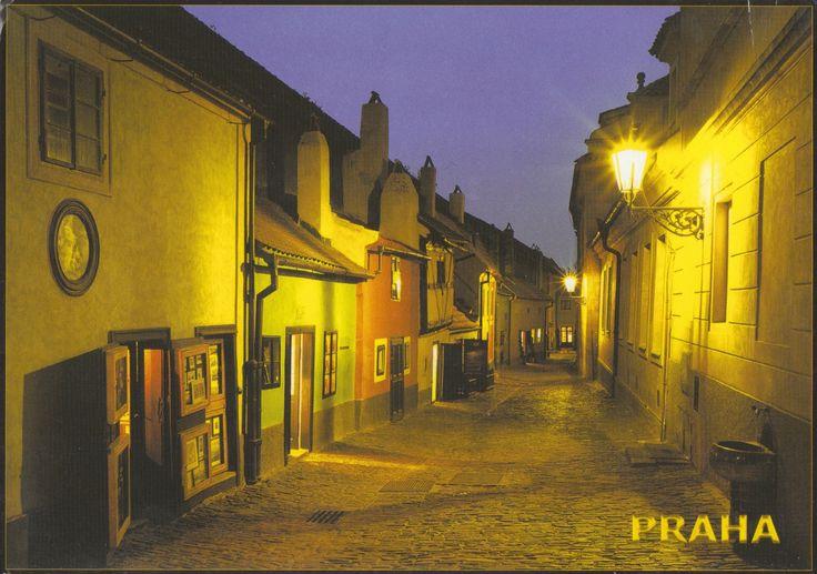 Ville de Prague - Carte reçue de République Tchèque - Distance: 969 km (602 miles) - Travel time: 5 days