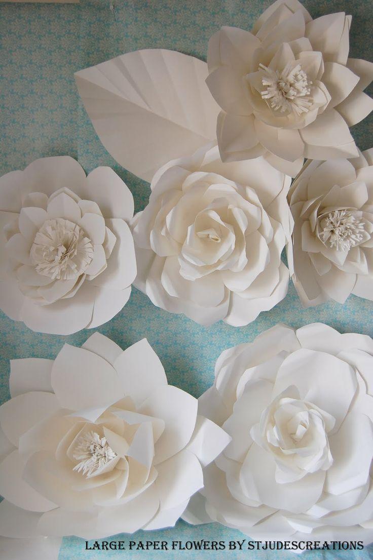 7 Best Paper Flowers Images On Pinterest Paper Flowers Weddings