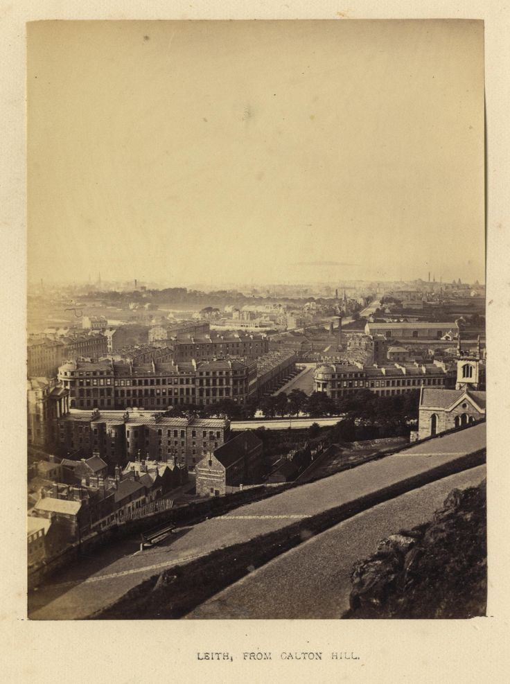 "https://flic.kr/p/232bU8H | Archibald Burns - Leith From Calton Hill,1868 | Maker: Archibald Burns (1831-1880) Born: Scotland Active: Scotland Medium: albumen print Size: 3 1/8"" x 4 1/8"" Location:   Publication: R.M. Ballantyne, Photographs of Edinburgh, Andrew Duthie, Glasgow, 1868, pg 37  Other Collections:  Notes:   To view our archive organized by Collections, visit: OUR COLLECTIONS  For information about reproducing this image, visit: THE HISTORY OF PHOTOGRAPHY ARCHIVE"