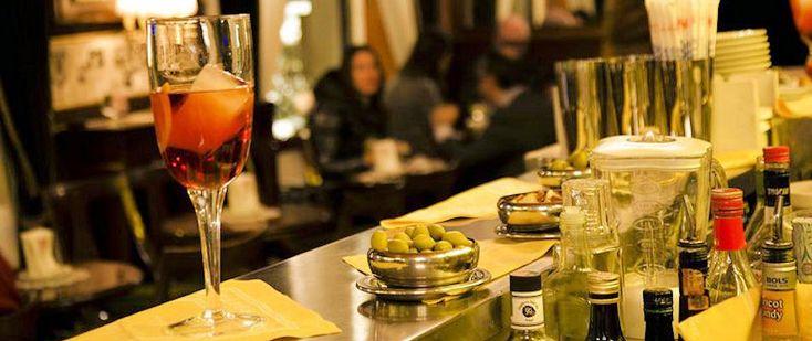 Best Bars in Milan - Bar Basso Milan