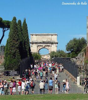 Arco de Tito, Roma.