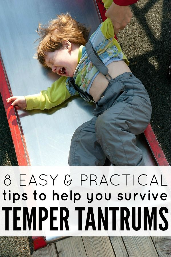 Whomever coined the phrase 'Terrible Twos' obviously didn't have a 3-year-old. But thanks to this list of 8 practical tips, the 'Trying Threes' (and all of the temper tantrums it brings with it!) just got easier.