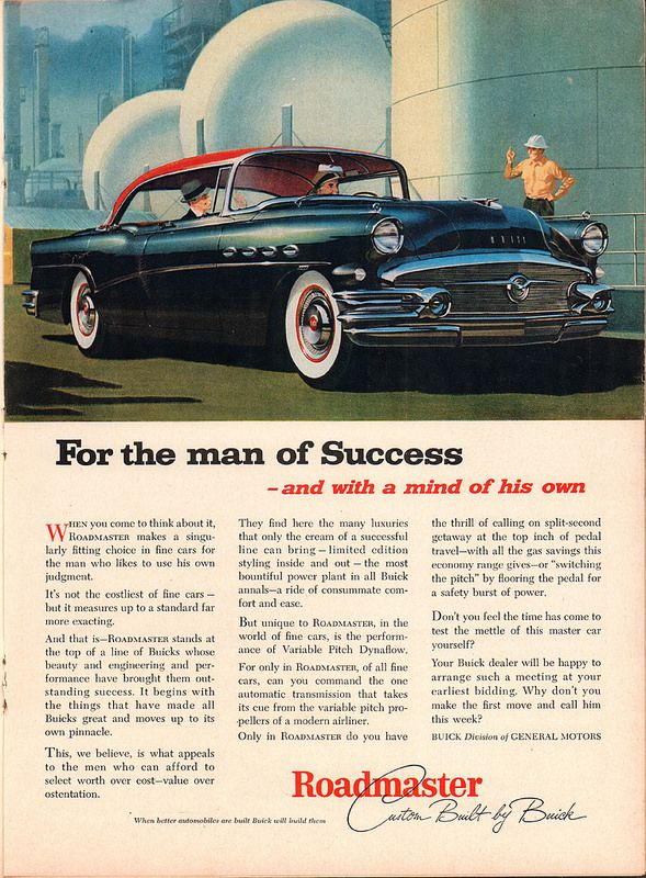 1956 Buick Roadmaster Advertisement Time Magazine June 25 1956 | by SenseiAlan