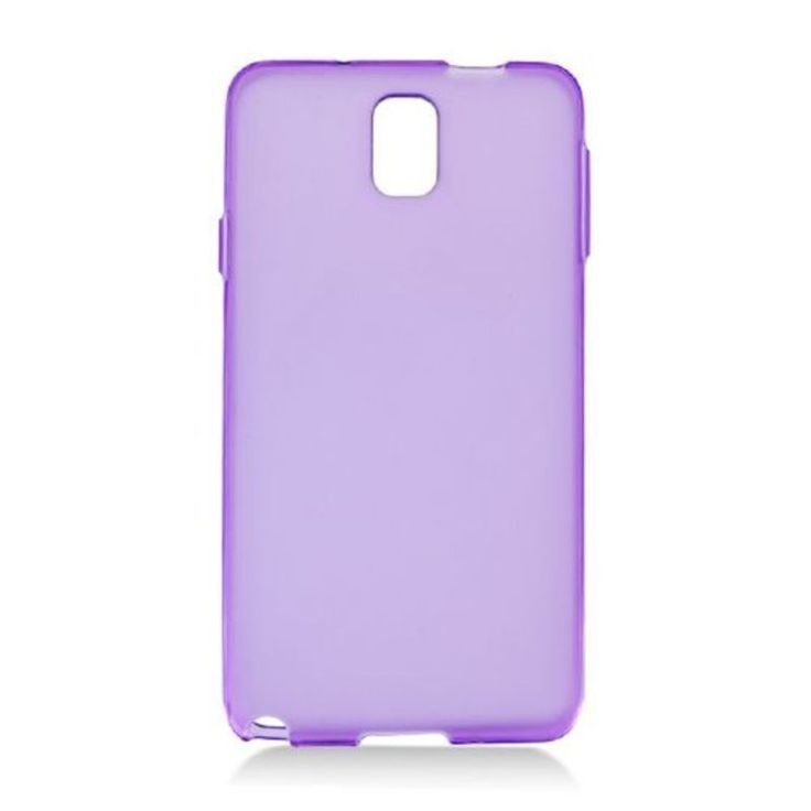 Insten Frosted TPU Rubber Candy Skin Case Cover For Samsung Galaxy Note 3 #2328446