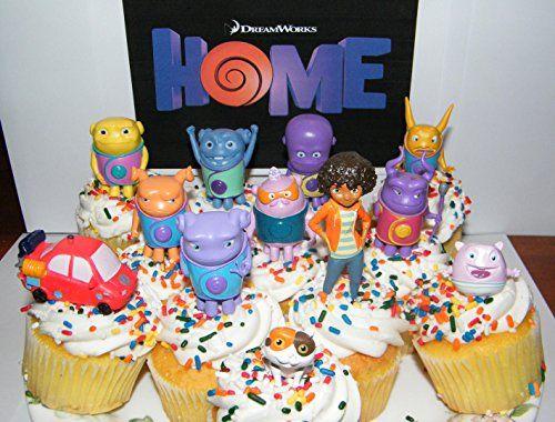 Oh Boov Cupcake Cake