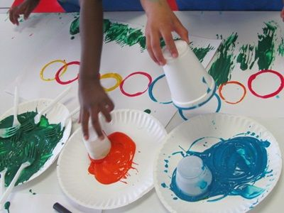 eric carles the very hungry caterpillar cup painting to make a caterpillar sequencing color - Free Painting Games For Preschoolers
